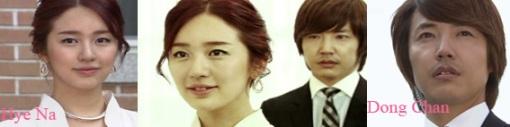 Dong Chan and Hye Na